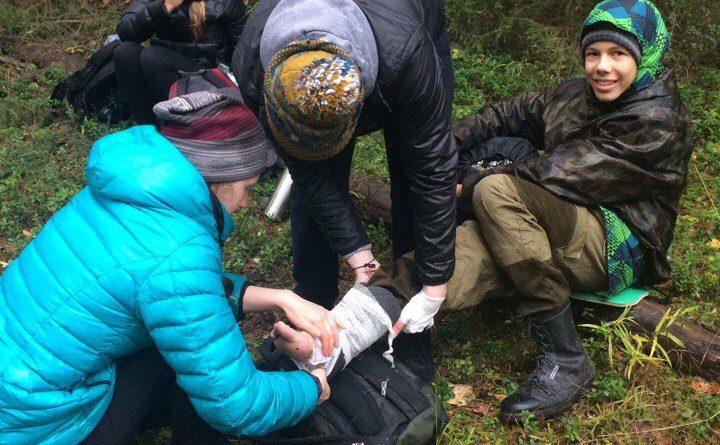 «Готов к труду и обороне» (ГТО) испытание «Туристский поход» в Кировской области